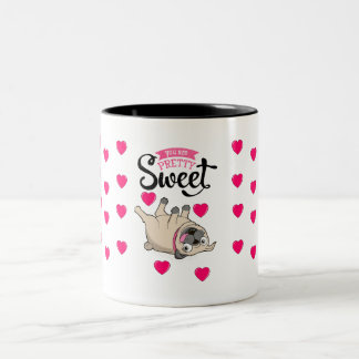 Pretty Sweet Pug Mug