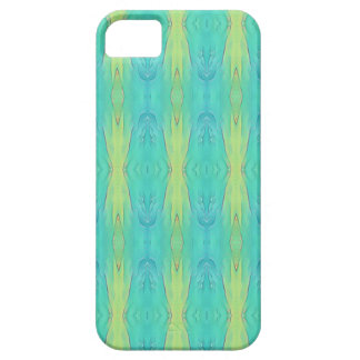 Pretty Teal Lemon Lime Modern Pattern iPhone 5 Cases