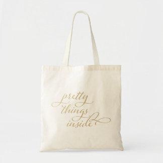 Pretty Things Inside Bags
