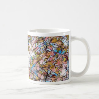 Pretty Tree Of Life Stained Glass Photomanipulatio Coffee Mug