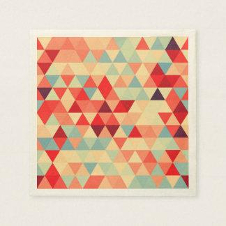 Pretty Triangle pattern II + your ideas Disposable Serviette
