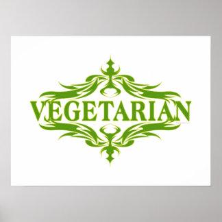 Pretty Vegetarian Design Print