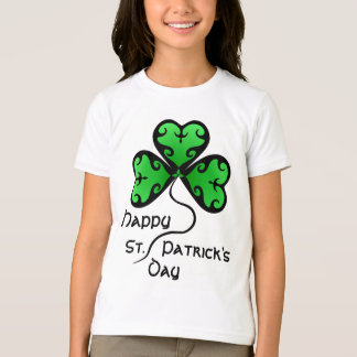 Pretty Victorian shamrock kids T-Shirt