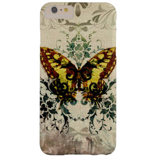 Pretty Vintage Butterfly Vines Barely There iPhone 6 Plus Case