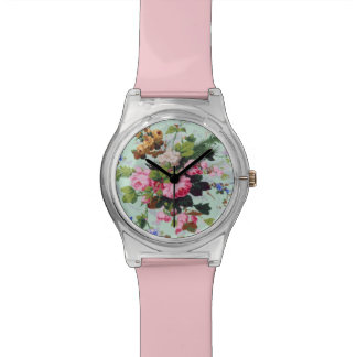 Pretty Vintage Flowers Watches