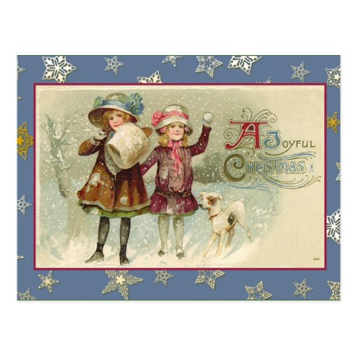 Pretty Vintage Happy Holidays Cards and Postcards