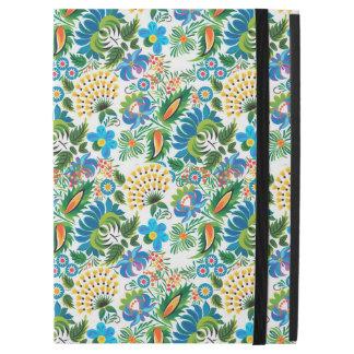"Pretty Vintage Russian Khokhloma Floral Pattern iPad Pro 12.9"" Case"