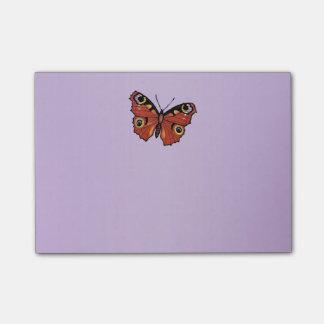 Pretty Vivid Monarch Butterfly Purple Post-it Notes