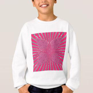 Pretty Vivid Pink Beautiful amazing edgy cool art Sweatshirt