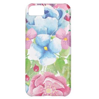 Pretty Watercolor Floral Bouquet iPhone 5C Case