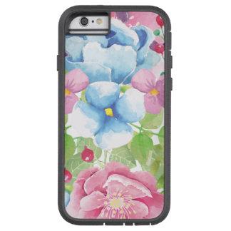 Pretty Watercolor Floral Bouquet Tough Xtreme iPhone 6 Case