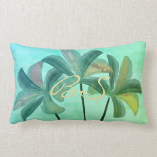 Pretty Watercolor Lilies Spring Pillow
