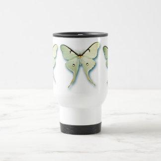 Pretty White Butterfly Design Mug