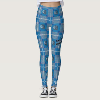 "Pretty Wicked ""Siren Plaid"" Leggings"