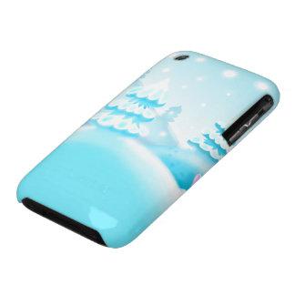 pretty winter wonders scene Case-Mate iPhone 3 cases