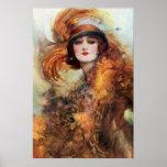 Pretty Woman 1920s Fashion Print