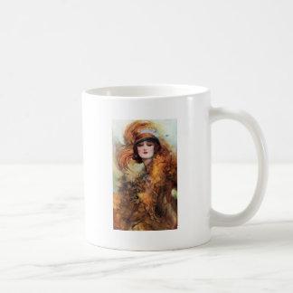 Pretty Woman Flapper Fashion 1920s Coffee Mug