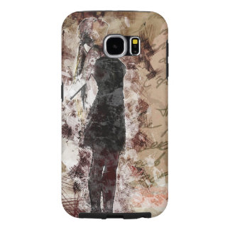 Pretty Woman Illustration Samsung Galaxy S6 Cases