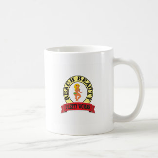pretty woman oval coffee mug