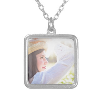 pretty-woman silver plated necklace