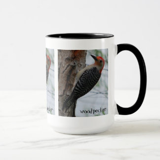 Pretty Woodpecker Mug
