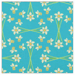 Pretty Yellow Daffodils Fabric to Customise