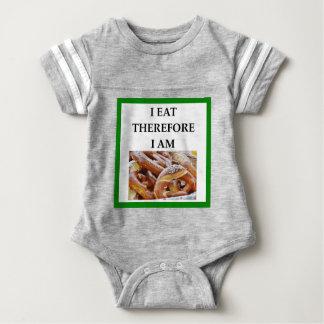 pretzel baby bodysuit