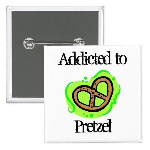 Pretzel Pinback Buttons