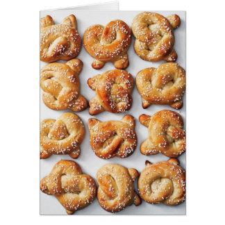 Pretzel Bread Photo Card