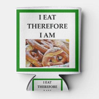 pretzel can cooler