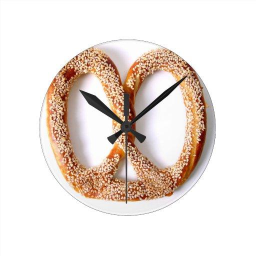 Pretzel Clocks