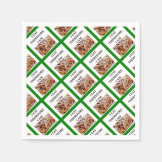 pretzel disposable serviettes