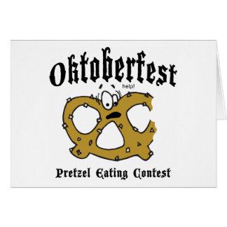 Pretzel Eating Contest Oktoberfest Gift Card
