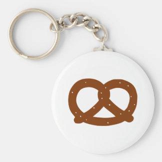 Pretzel Basic Round Button Key Ring