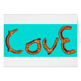 Pretzel Love Card