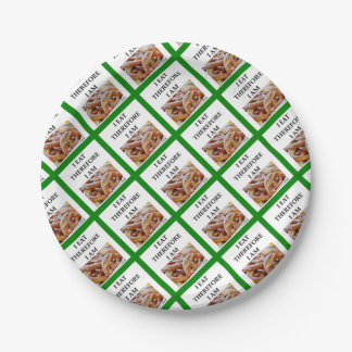 pretzel paper plate