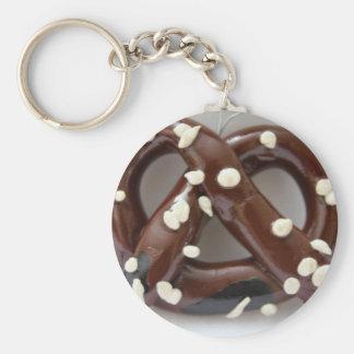 Pretzel Photography Basic Round Button Key Ring