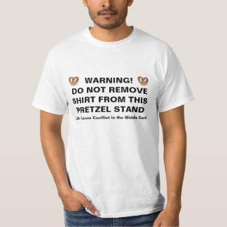 Pretzel Stand Warning Shirts