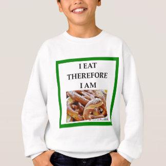 pretzel sweatshirt