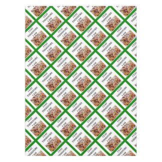 pretzel tablecloth