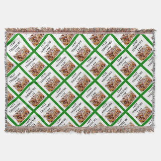 pretzel throw blanket
