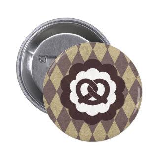 pretzel vintage pinback buttons