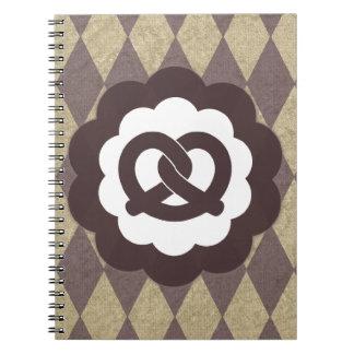 pretzel vintage notebooks