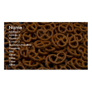 Pretzels Business Card Templates
