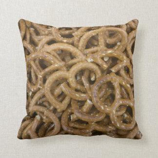 Pretzels Throw Cushion