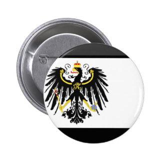 Preussen Flag Gem Pinback Button