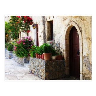 Preveli Monastery, Crete Rethymnon Greece Postcard