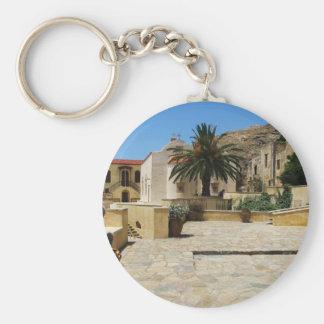 Preveli Monastery located in  Crete, Greece Key Chains