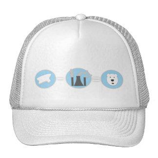 Prevent Global Warming Polar Bear Hat