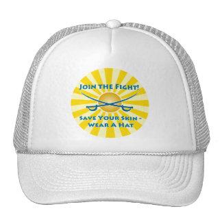 Prevent Skin Cancer Mesh Hat